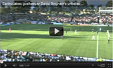 Watch Earthquakes Goalkeeper Unbelievable Goal with SPEEDbit Video Accelerator