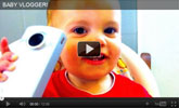 Watch Baby Vloger with SPEEDbit Video Accelerator