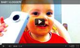 Watch Baby Vloger with SPEEDbit Video Accelerator